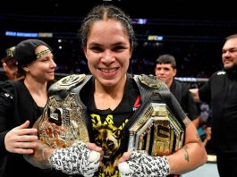 UFC two-division champion Amanda Nunes