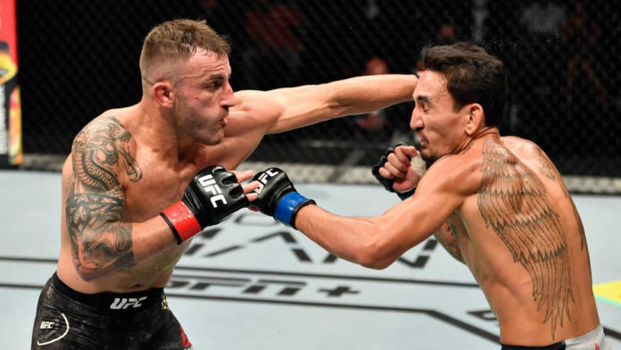 Alexander Volkanovski vs Max Holloway