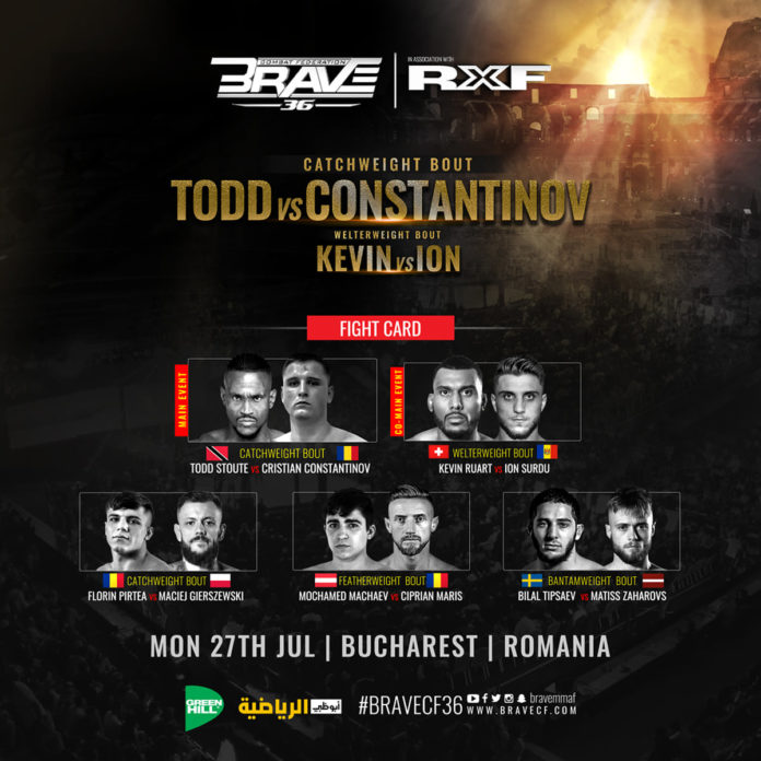 BRAVE CF 36 fight card