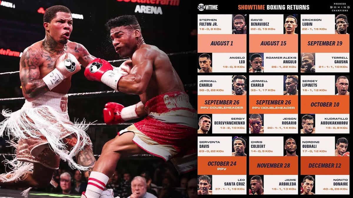 SHOWTIME Sports & PBC return with a stellar lineup