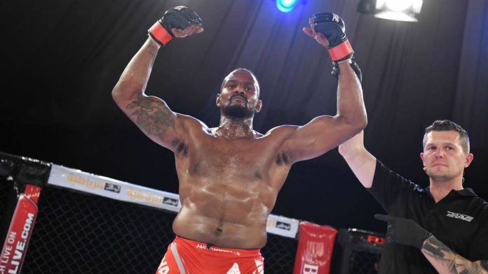 Todd Stoute victorious at BRAVE CF 36