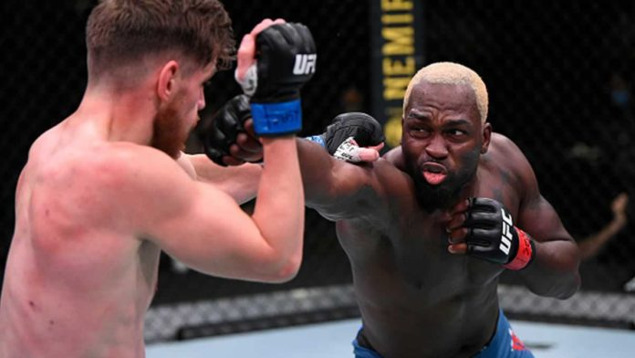 Derek Brunson defeats Edmen Shahbazyan by TKO at UFC Vegas 5