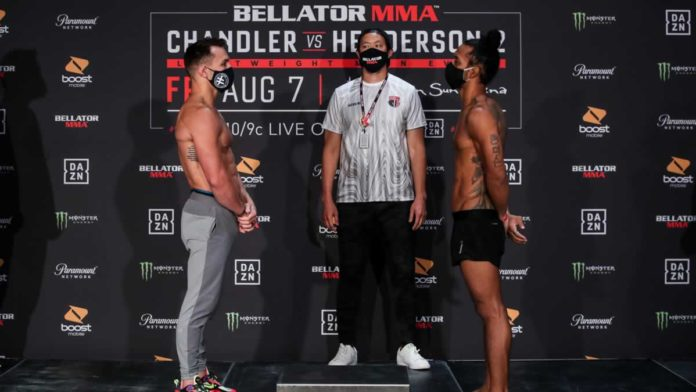 Bellator 243 Michael Chandler vs Benson Henderson