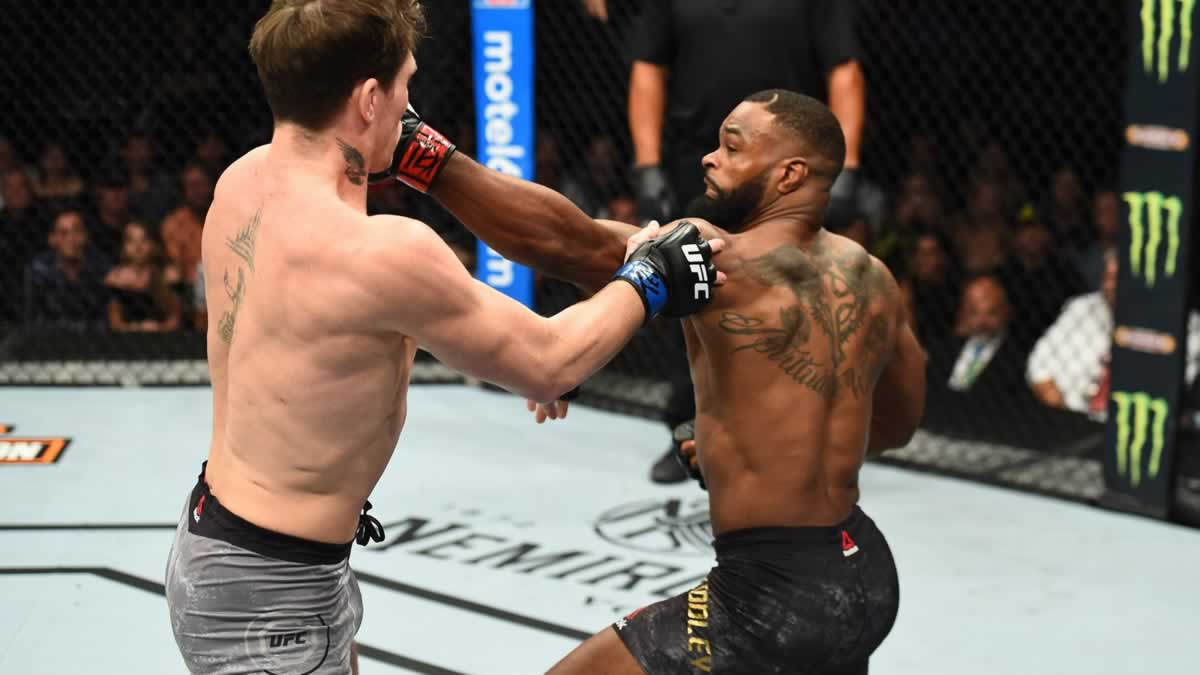 Tyron Woodley Announces Fight Date Against Colby Covington At Ufc Vegas Fightmag