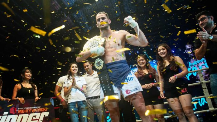 Antonio Faria wins WLC light welterweight title