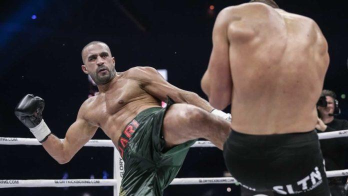 GLORY kickboxing heavyweight Badr Hari