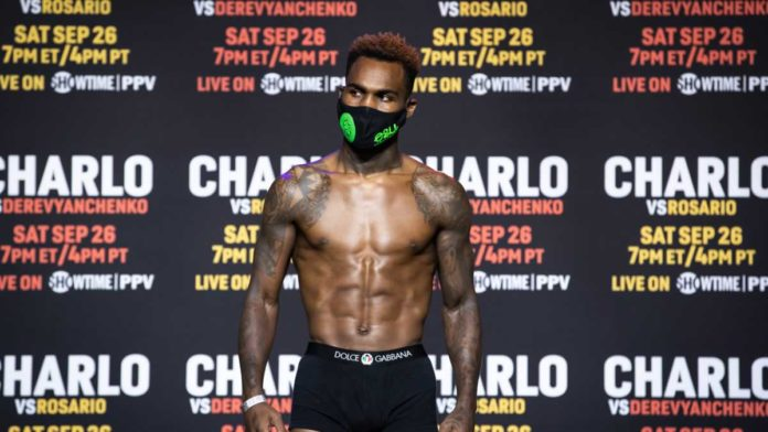 Jermell Charlo weigh-in