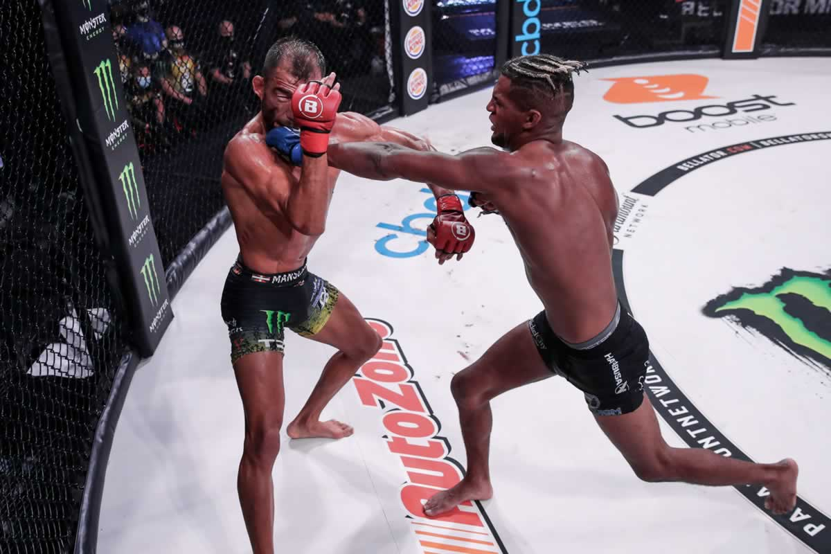 Juan Archuleta vs Patchy Mix at Bellator 246