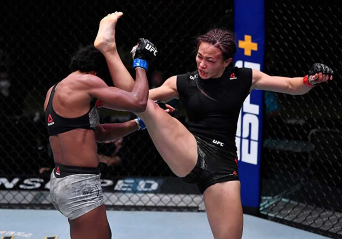 Michelle Waterson defeats Angela Hill at UFC Vegas 10