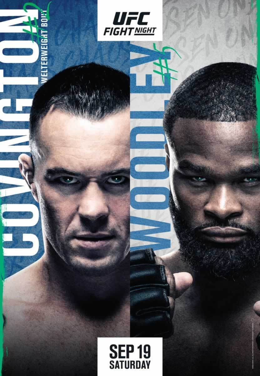 UFC Vegas 11 Poster Released For Covington Vs Woodley