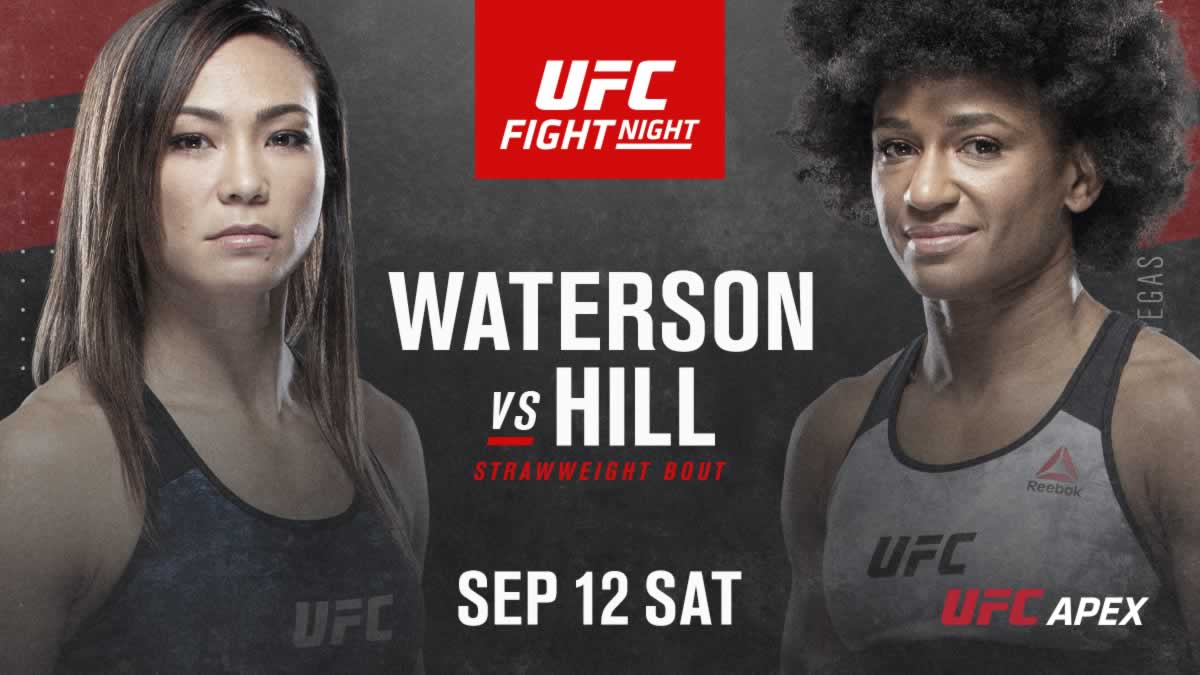 Ufc Vegas 10 Fight Card Waterson Vs Hill Fightmag