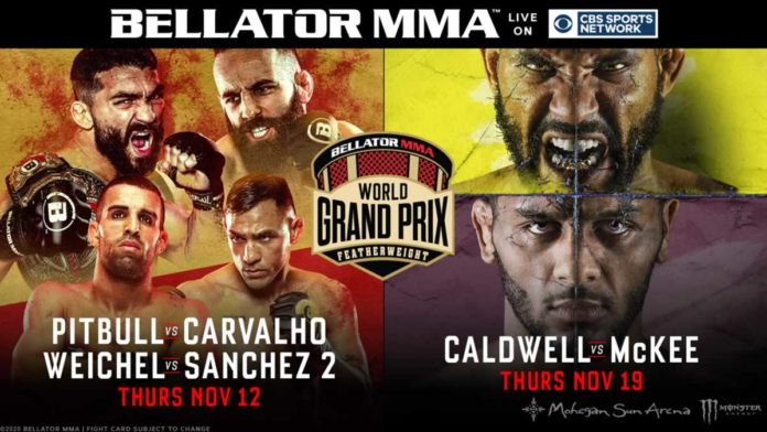 Bellator MMA Featherweight World Grand Prix Resumes Live on CBS Sports Network