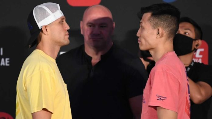 UFC Fight Island 6 Ortega vs Korean Zombie