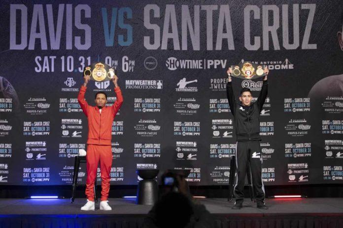 Gervonta Davis vs Leo Santa Cruz