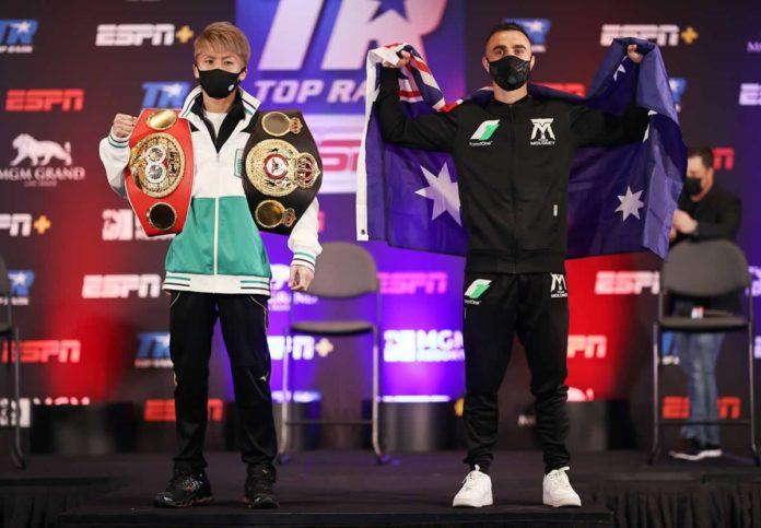Inoue vs Moloney press conference