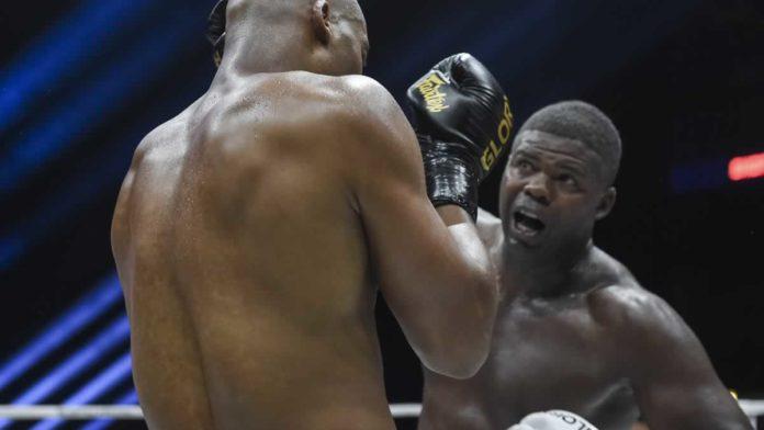 GLORY kickboxing heavyweight Jahfarr Wilnis