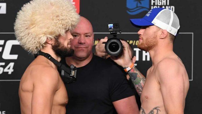 UFC 254 Khabib vs Gaethje
