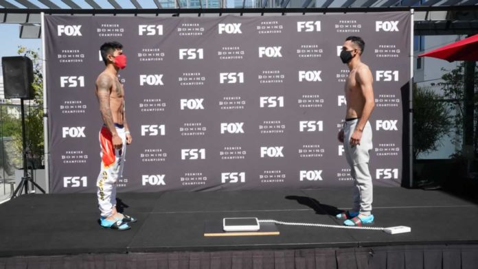 Mark Magsayo vs Rigoberto Hermosillo