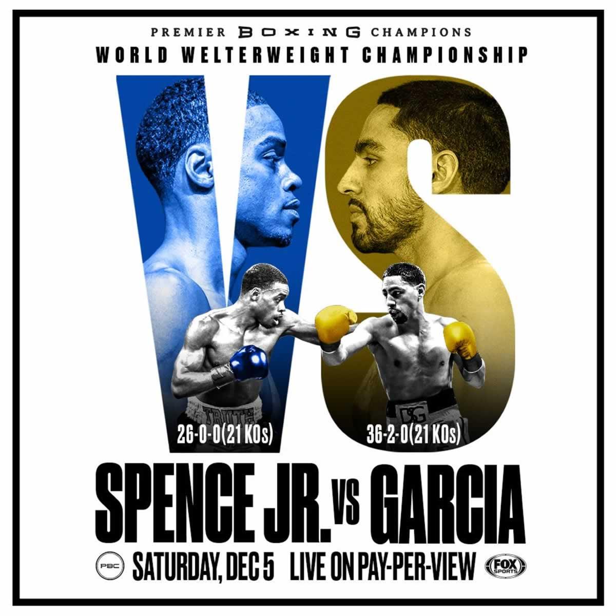 Spence Jr. vs Garcia
