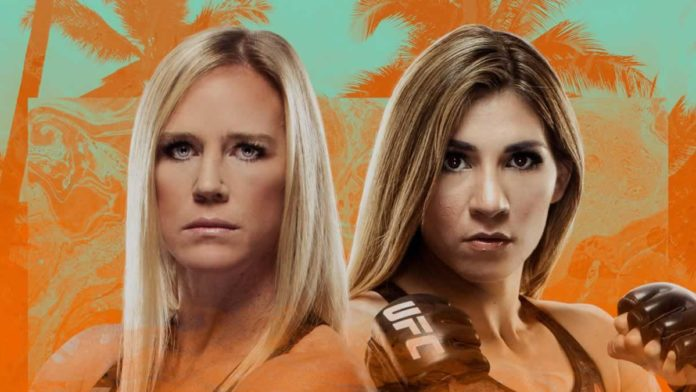 UFC Fight Island 4 Holly Holm vs Irene Aldana