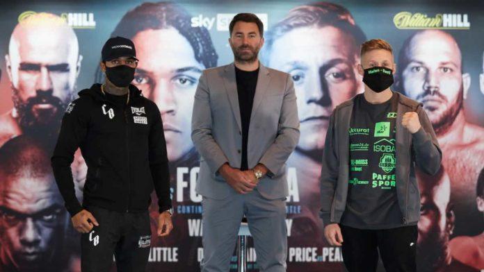 Conor Benn vs Sebastian Formella press conference