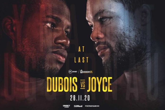 Daniel Dubois vs Joe Joyce