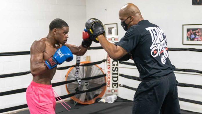 Errol Spence Jr workout