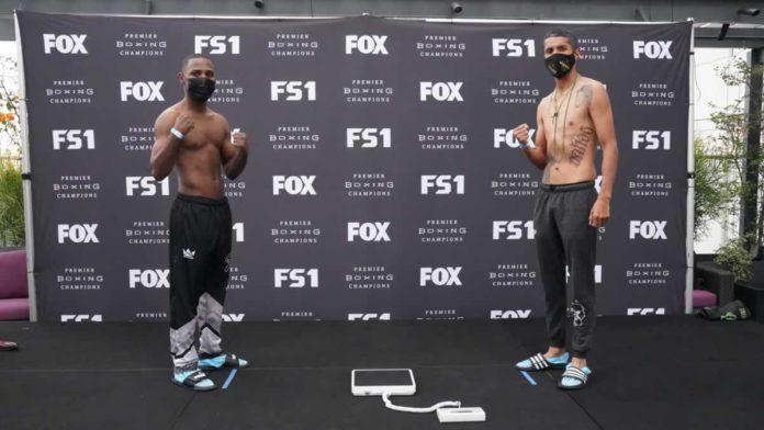 Javier Fortuna vs. Antonio Lozada weigh-in