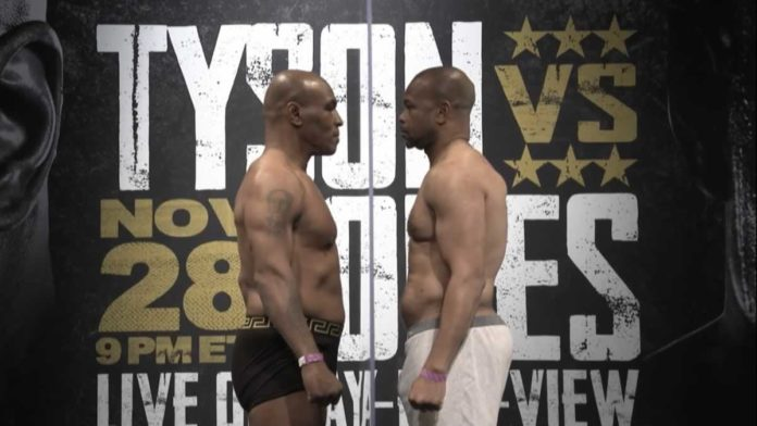 Tyson Vs Roy Jones Jr