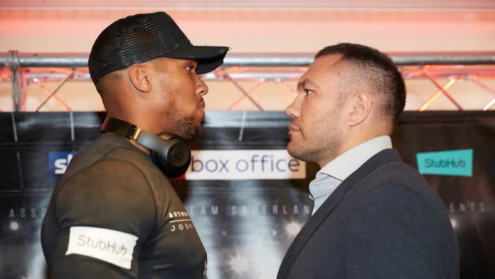 Anthony Joshua vs Kubrat Pulev