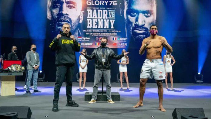 Badr Hari vs Benjamin Adegbuyi
