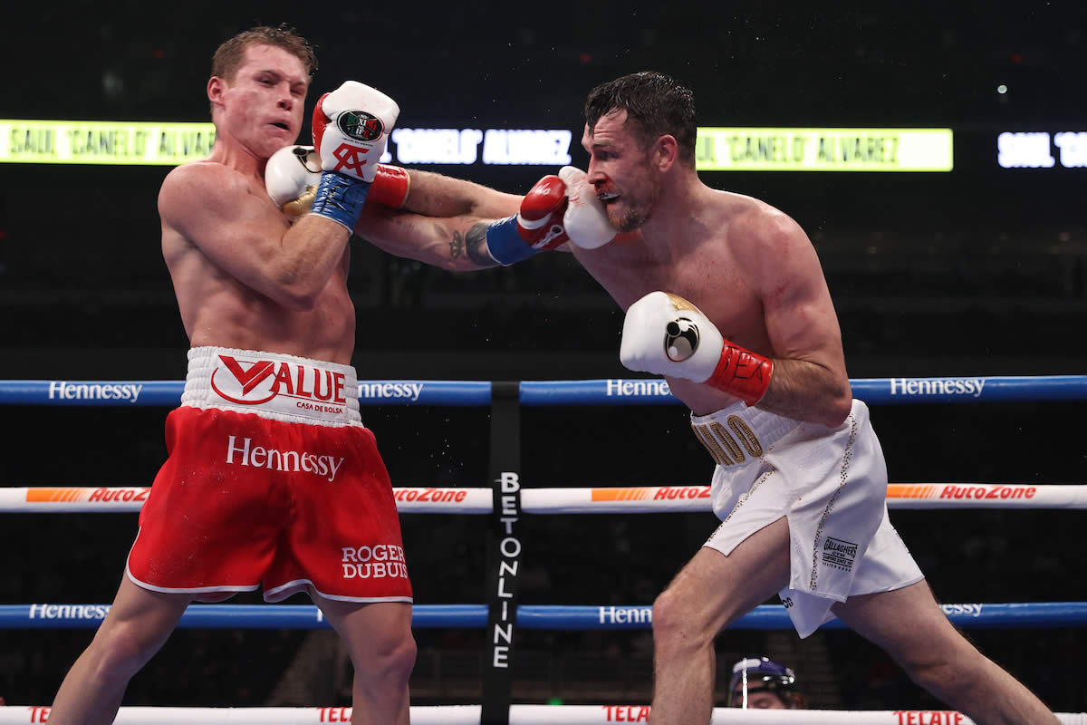 Canelo Alvarez vs Callum Smith