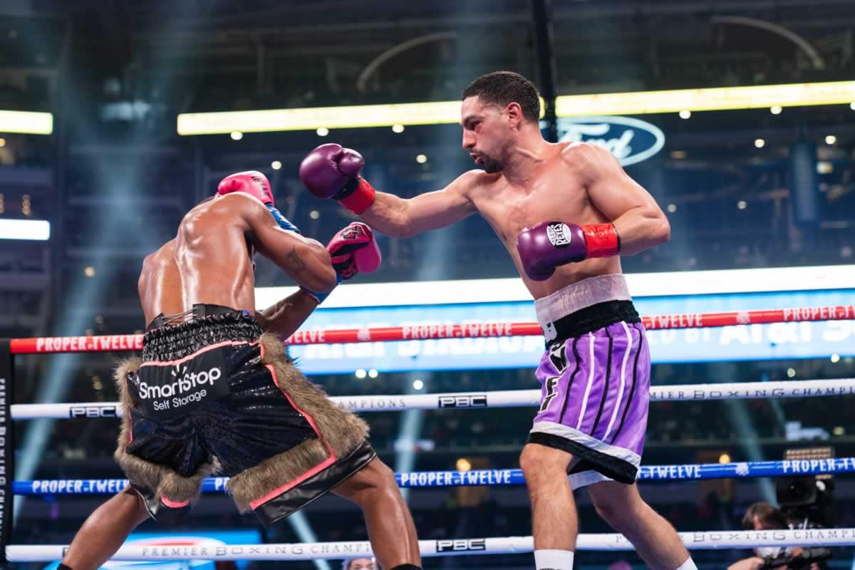 Errol Spence Jr vs Danny Garcia