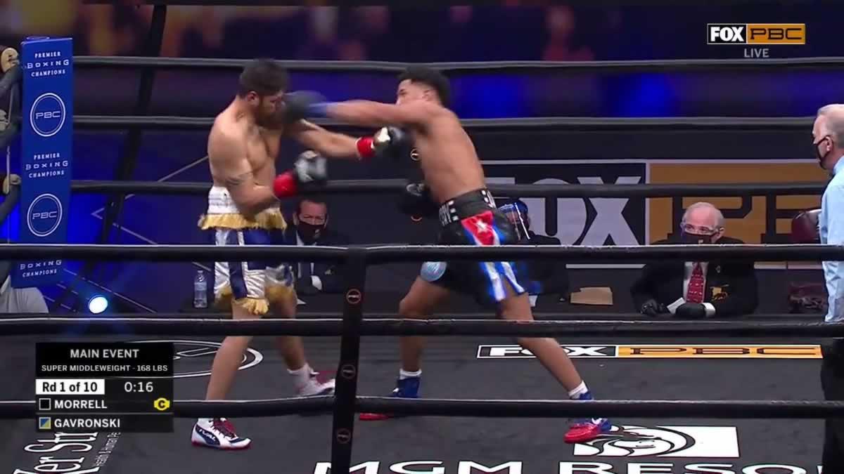 David Morrell Jr stops Mike Gavronski – full fight video highlights