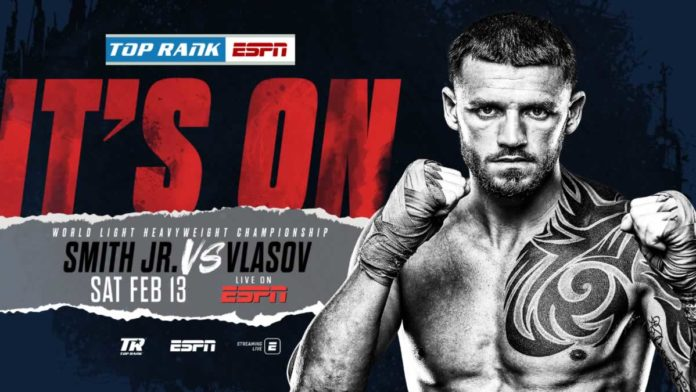 Joe Smith Jr vs Maxim Vlasov