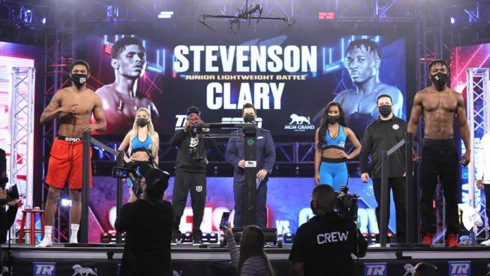 Shakur Stevenson vs Toka Kahn Clary