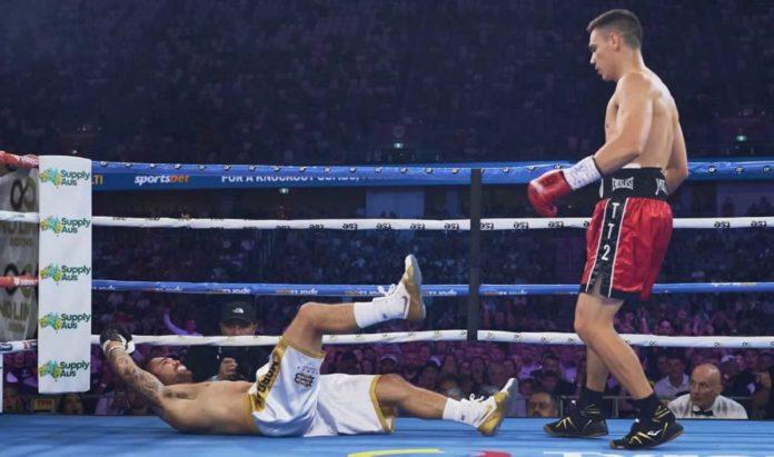 Tim Tszyu knocks out Bowyn Morgan