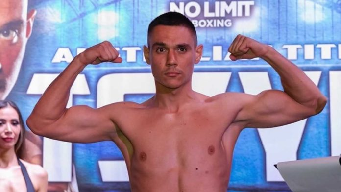 Tim Tszyu weigh-in