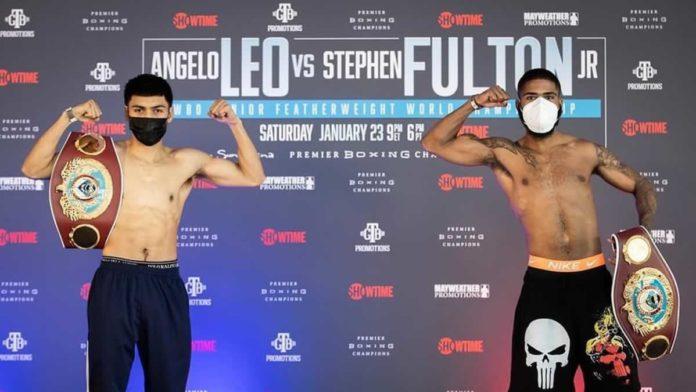 Angelo Leo vs Stephen Fulton