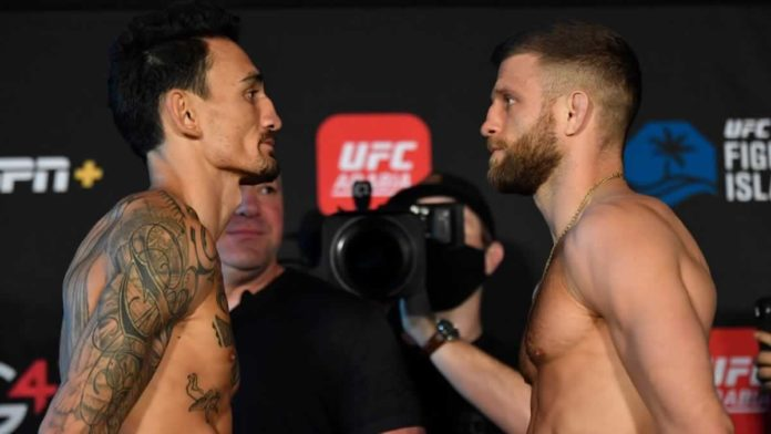 UFC Fight Island 7 Max Holloway vs Calvin Kattar