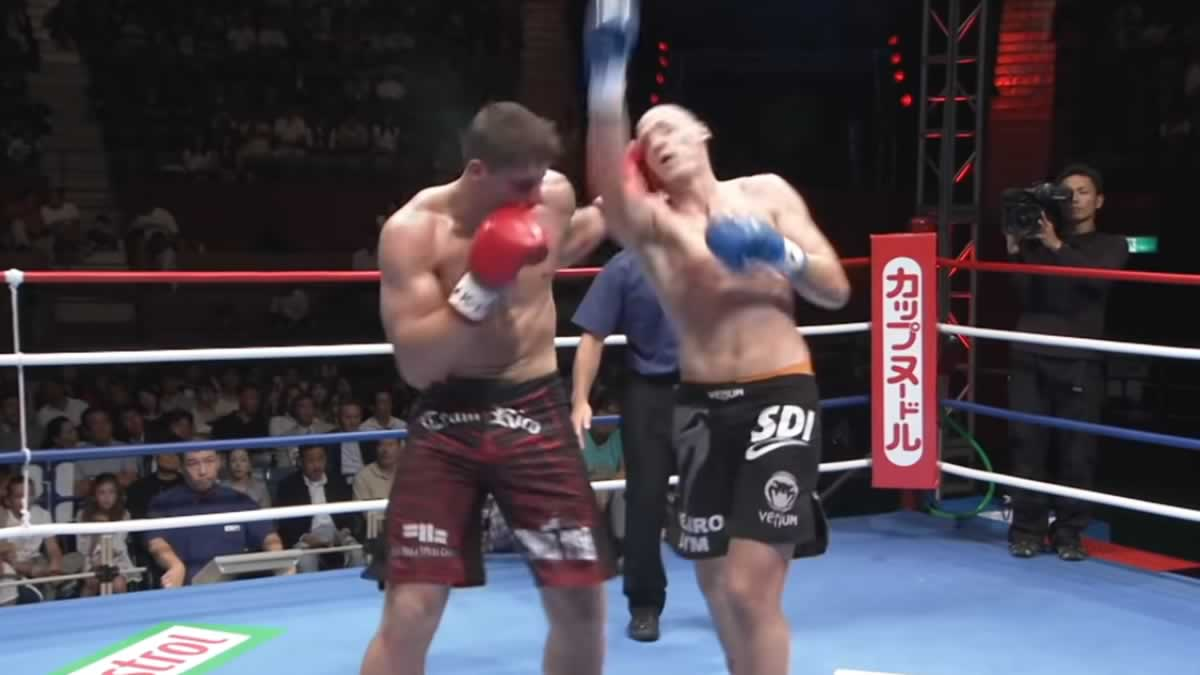 Full Fight Video: Rico Verhoeven drops unanimous decision in 2009 K-1 fight in Japan