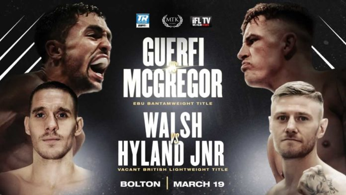 Karim Guerfi vs Lee McGregor and Liam Walsh vs Paul Hyland Jnr