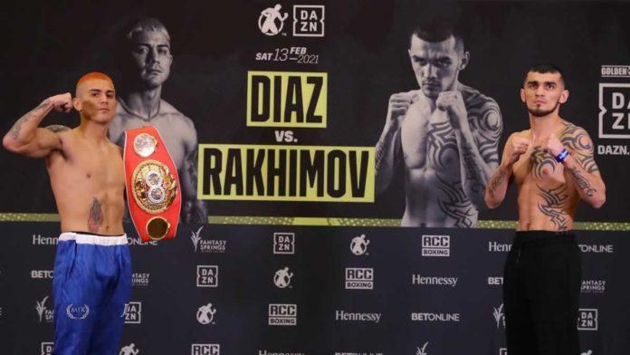 Joseph Diaz vs Shavkatdzhon Rakhimov