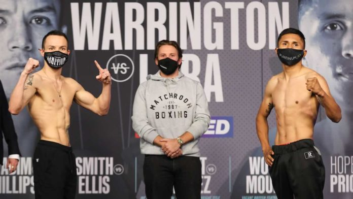 Josh Warrington vs Mauricio Lara