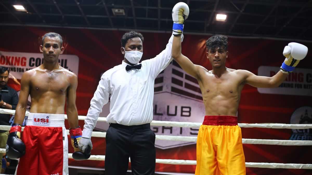 Mohammed Naveed victorious over Dipankar Sharma