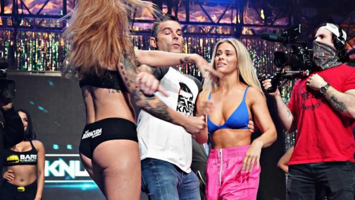 BKFC Knuckle Mania Paige VanZant vs Britain Hart