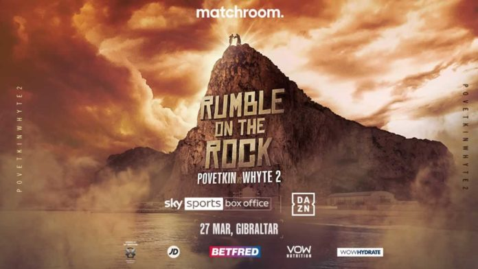 Povetkin vs Whyte 2 headlines Rumble on the Rock