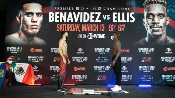 David Benavidez vs Ronald Ellis