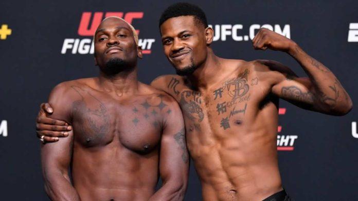 UFC middleweights Derek Brunson and Kevin Holland