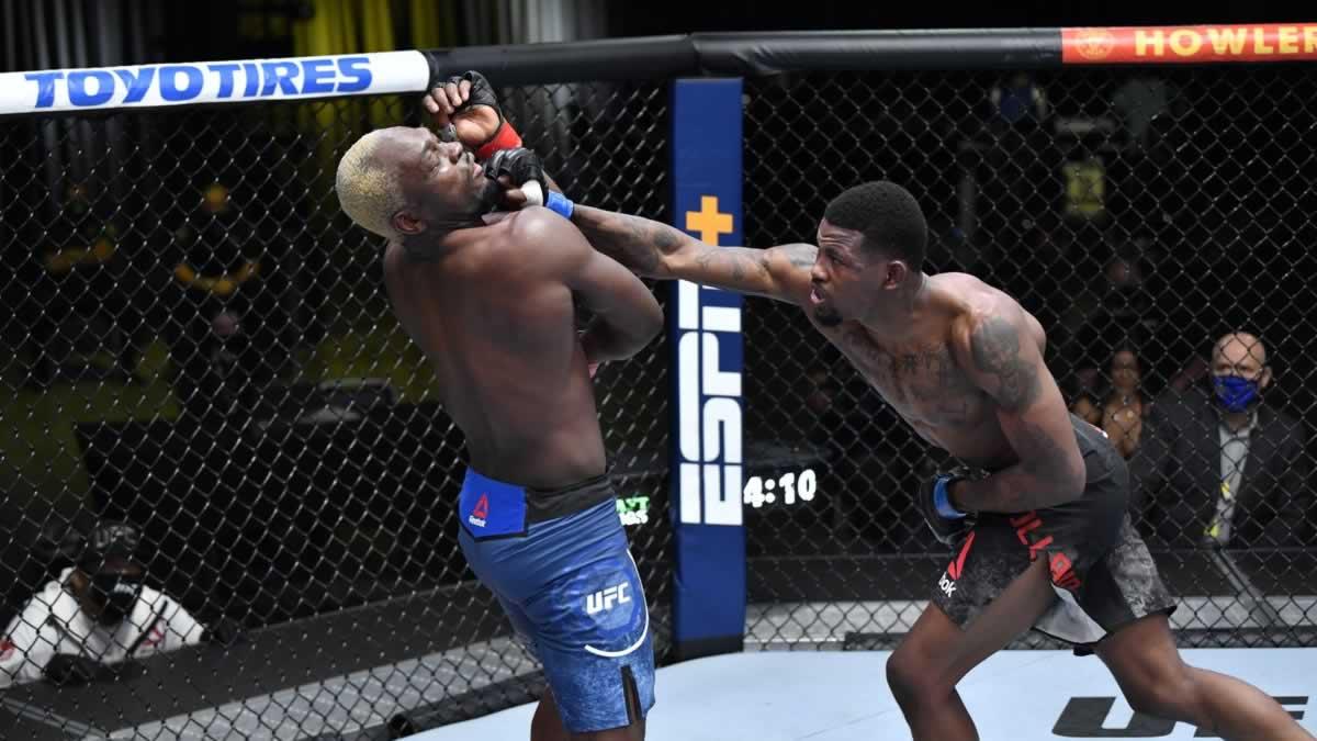 Derek Brunson vs Kevin Holland full fight video highlights from UFC Vegas 22